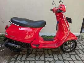 Piaggio Vespa LX 125 2020 Red Odo 550km Mulus Like New