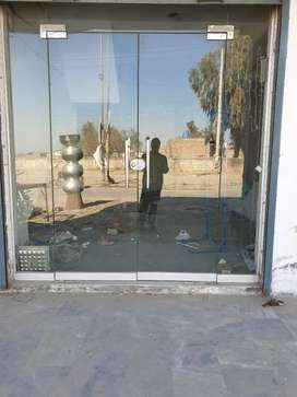 Front Glass Door Shop & Office