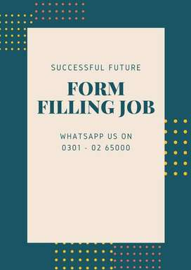 Scam less job opporunity From filling work for all