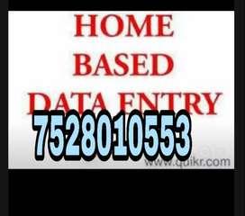 Online Data Entry Job - Earn Rs.5000 to 10000 for online task