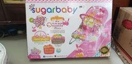 Dijual bouncer sugar baby deluxe musical vibration