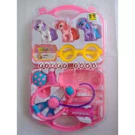Mainan Dokter - Dokteran Tema Little Pony | Dokter Set