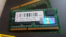 notebook laptop ram soddim v-gen lifetime 4GB PC-10600 1333MHz