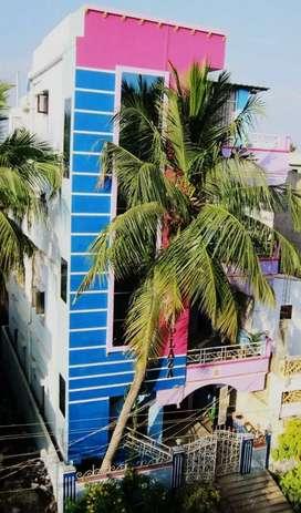 Seetharamnagar 2nd lane, Guntur, AP. House for rent.