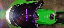 Ninja rr 150 warna ijo 2011