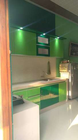 kitchen set full design minimalis DAP multiplek HPL