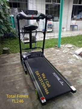Treadmill Elektrik TL246 Total Fitnes, Baru siap Kirim COD