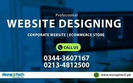 Corporate Business Website Ecommerce Shopping Store - Design & launch