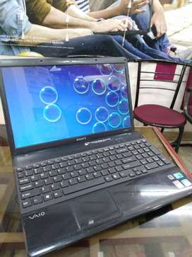 Used Sony intel Core i 3 Laptop / Notebook