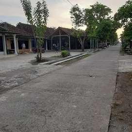 Investasi tanah pekarangan di tengah kampung