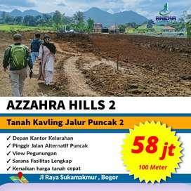 Jual tanah kavling murah Bogor 1000m² cuma 580jt