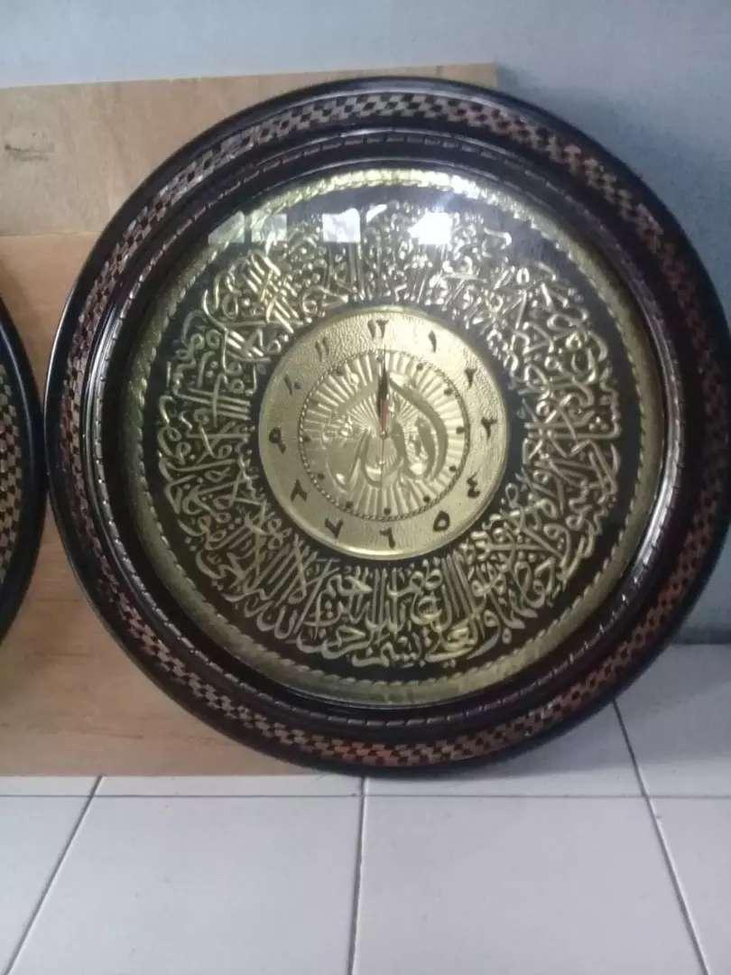 Jam Kaligrafi ukuran jumbo 75 x75 0