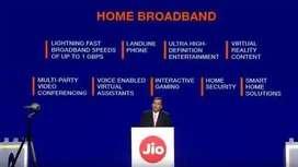 Jio fiber broadband