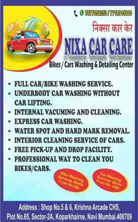 Car Washing Services