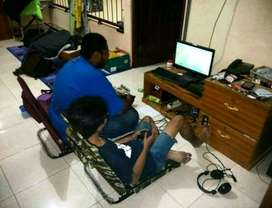kursi gaming ps 2 ps 3 ps 4 /i3 i5 i7 oppo laptop iphone psp xiaomi