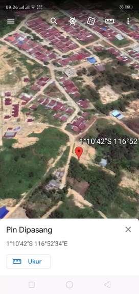 Tanah luas murah, hanya 300 mtr dari jalan raya Soekarno Hatta