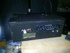 Box speaker&buat power amplifer