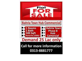 Sasta Flat for Sale in Bahria Town Phase 8