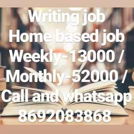 Easy Work Easy Handwriting Job