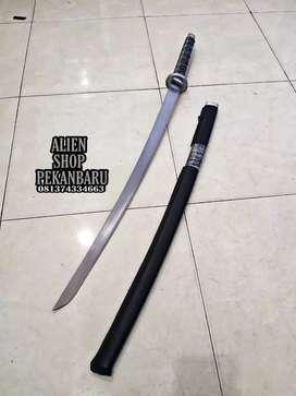 Samurai pedang black full tajam 95cm