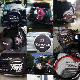 Cover/Sarung Ban Daihatsu Terios/Rush/Vitara/Rocky colek terano Aja la