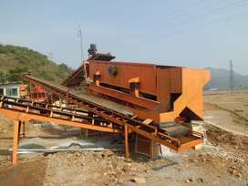 Vibrating Screen / Ayakan Pasir Stone Crusher Plant