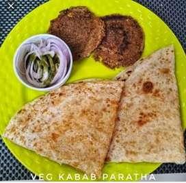 mujhe veg kabab parathe ke liye cook chahiye urgent