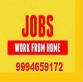 PART TIME OFFLINE Notepad Project Typing Job at Home. Per PAGE Rs.100!
