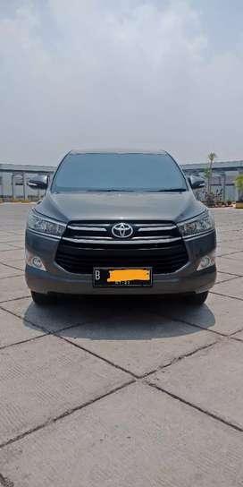Toyota Kijang Innova Reborn G Manual Bensin Hitam 2016 KM10 ribuan