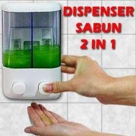 Dispenser Sabun 2 in 1 Berkualitas, MURAH dan PRAKTIS