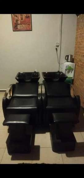 Washback Salon Barber kondisi 90%