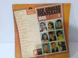 Vinyl Turntable 12 inch 33 1/2 RPM Die Grosse Starparade 1966