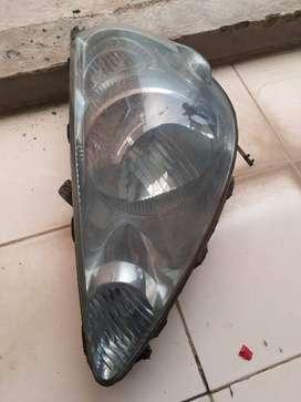 Headlemp lampu depan honda jazz original