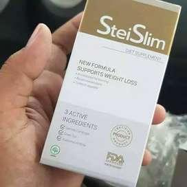 Obat Pelangsing Badan Stei Slim Herbal Asli