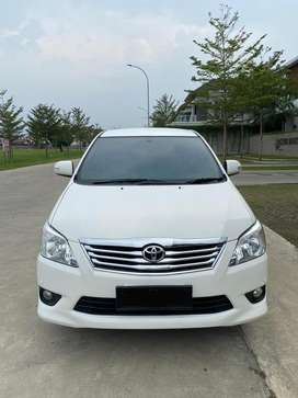 Toyota Innova V bensin tahun 2012 original