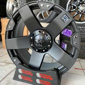 Velg 20 XD SERIES STAR 6Hole pajero fortuner triton hilux dll