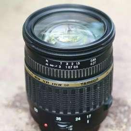 Lensa Tamron 17-50mm f2.8 canon EF-S APS-C