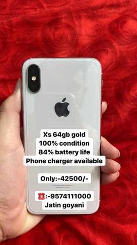 Iphone xs 64gb gold available