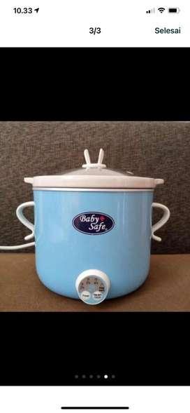 Slow cooker baby safe LB007 dengan timer