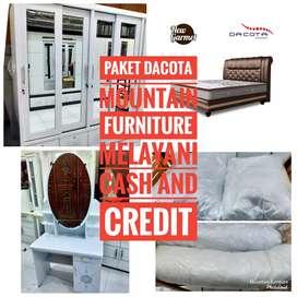 Mountain furniture,Paket Hantran asli kayu ,Dacota ya ,Harga bisa nego