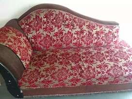 Maroon colour sofa