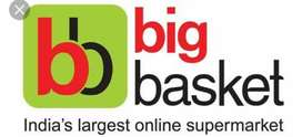 URGENT REQUIREMENT OF VAN SUPPORT STAFF FOR BIG BASKET