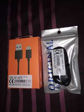 Kabel Data/Charger Xiaomi 2A Fast Charging Ori