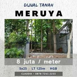 CLAU TANAH MERUYA 5x25 MURAH SIAP BANGUN