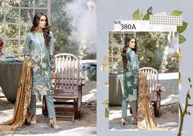 Salitex Embroidered Linen Unstitched 3 Piece Suit Winter Collection