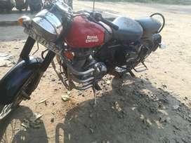 I want sell my classic 350 single hand use 22000 kilometer running
