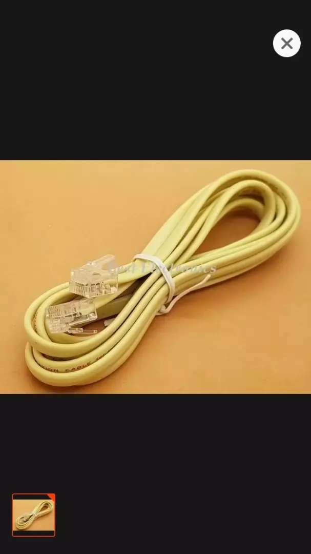 Kabel telepon rumah/ kantor 0