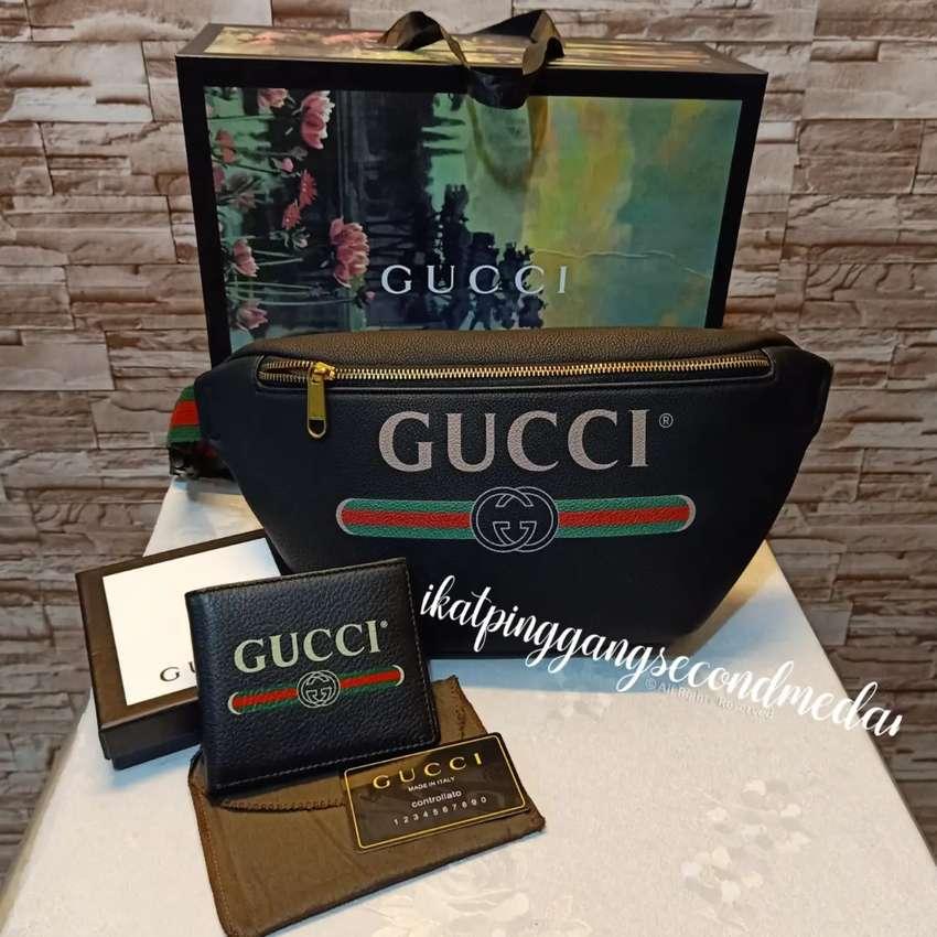 Paket hemat Gucci leather 0