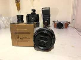 YONGNUO Fixed lens 50mm F1.8