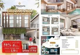 Villa Semi Furnish SHM Cuma 5 Menit Dari Omnia !!!